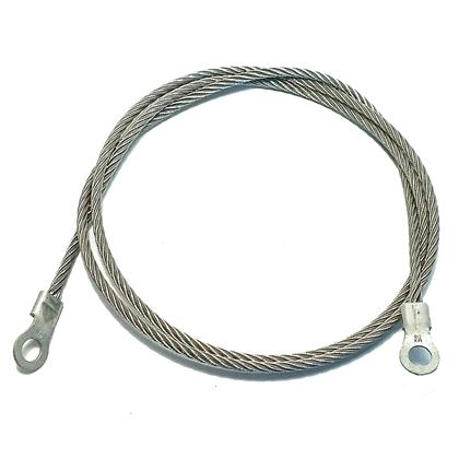 Heavy-duty Grounding Cable, 120""