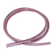 Polyurethane-coated Copper Braid Wire, 6 AWG (per foot)