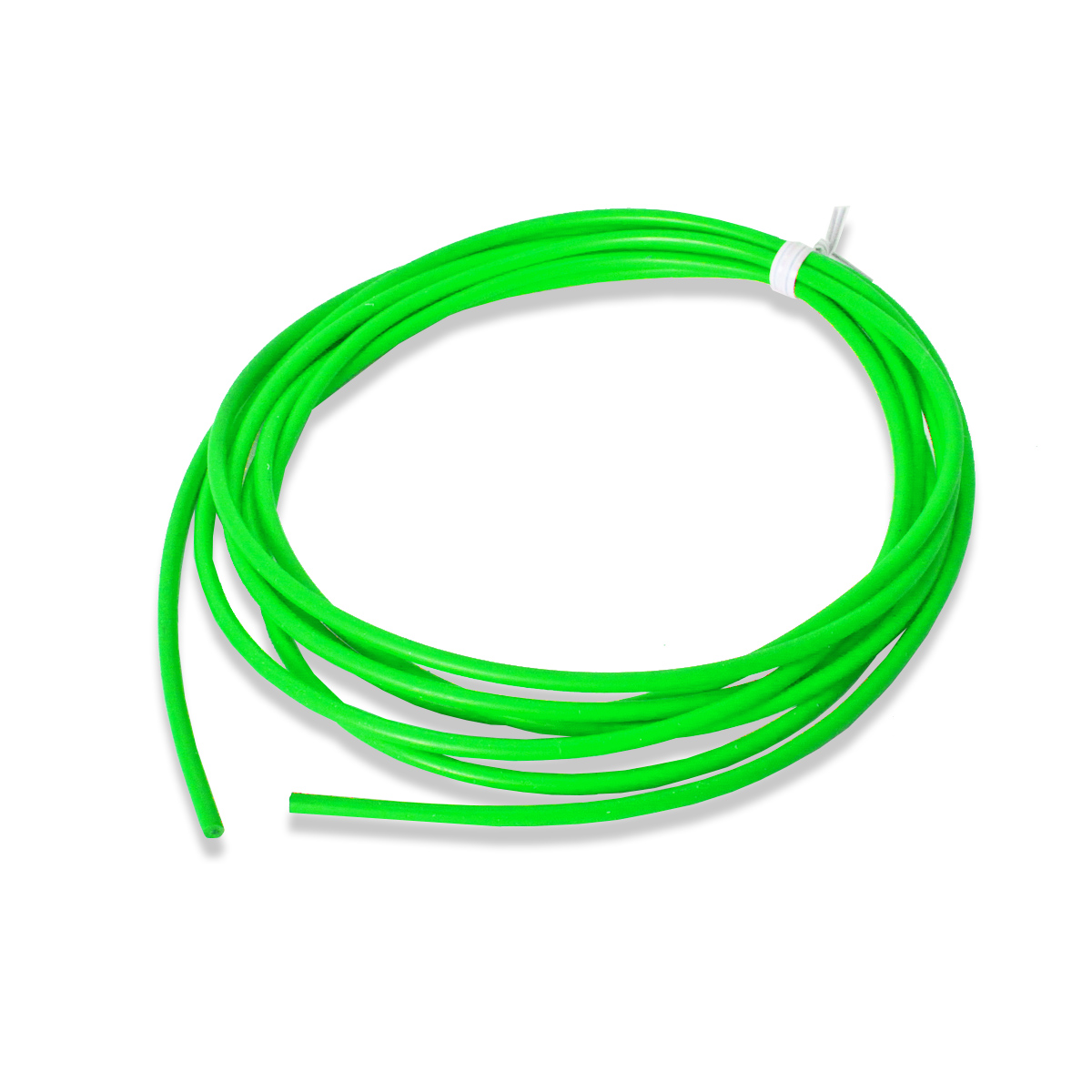 "Silicone, 10 AWG, ""Coolflex 45"" Wire, Green, 10'"