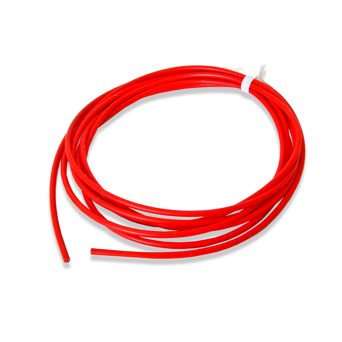 "Silicone, 10 AWG, ""Coolflex 45"" Wire, Red (per foot)"