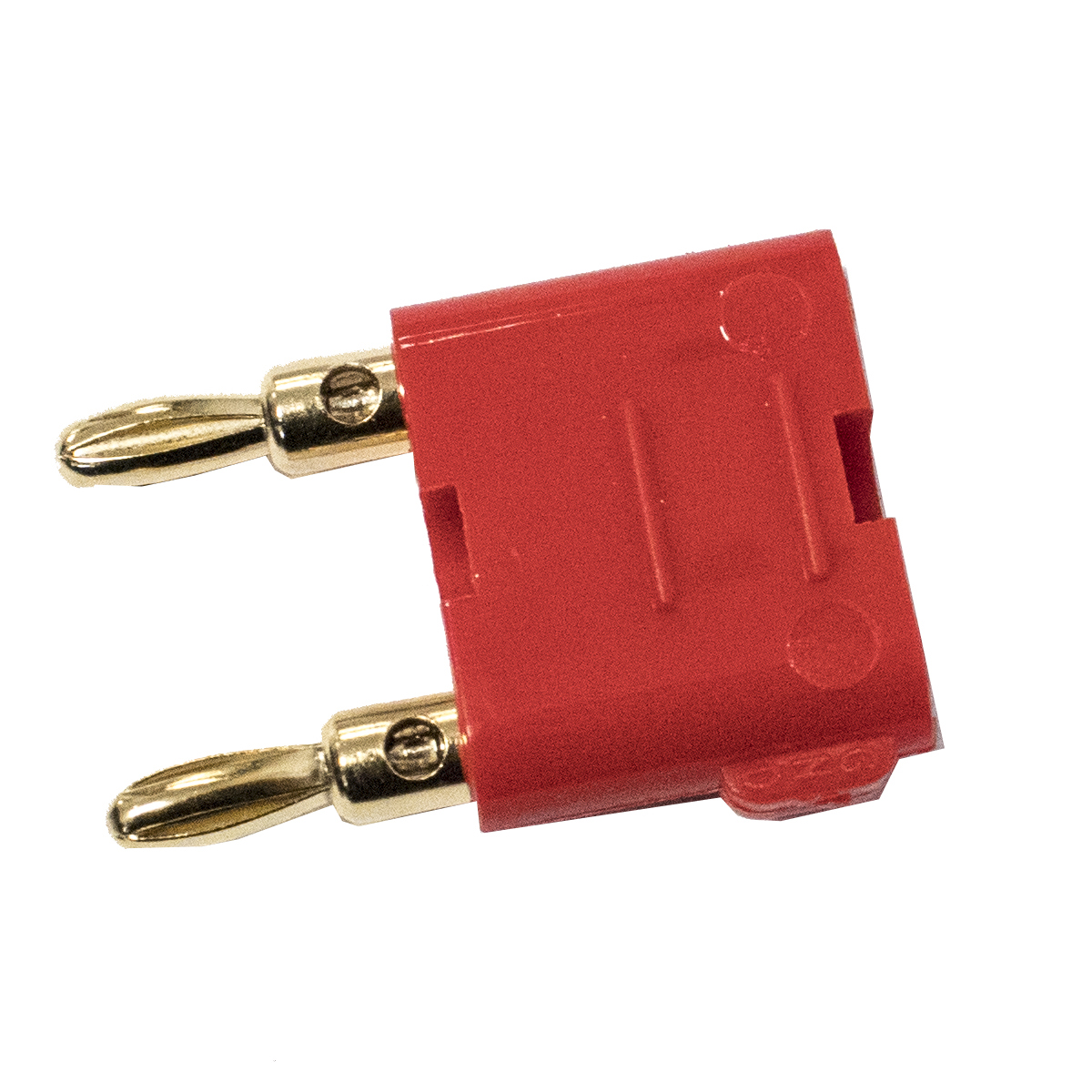 Solderless, Stackable Mini (3mm) Dual Banana Plug