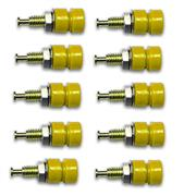 10-pack: Pin Tip Jack, Panel Mount